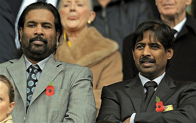 Rao Brothers - Blackburn Rovers owner
