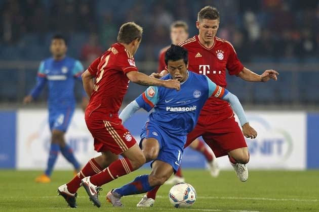 Bhaichung Bhutia Bayern munich