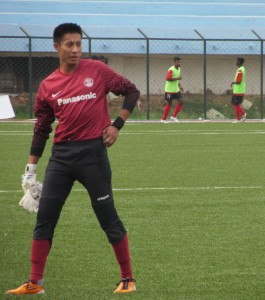 Shillong Lajong's goalkeeper was the only player to play both games and woulld be happy to maintain clean sheets