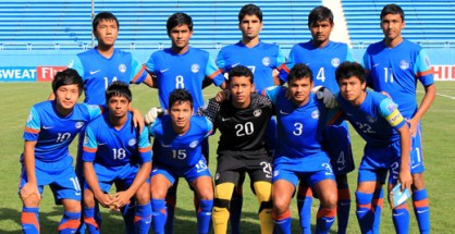 India's starting XI against Syria.