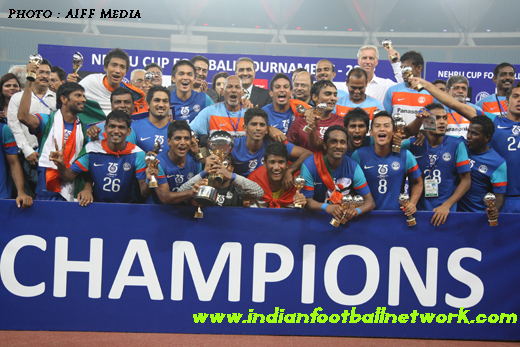 Nehru Cup champions