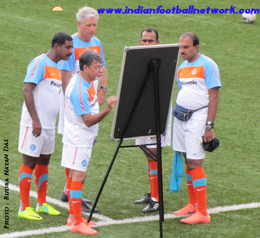 Wim Koevermans and his coaching team