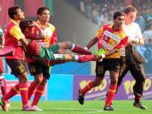 East Bengal vs Mohun Bagan derby
