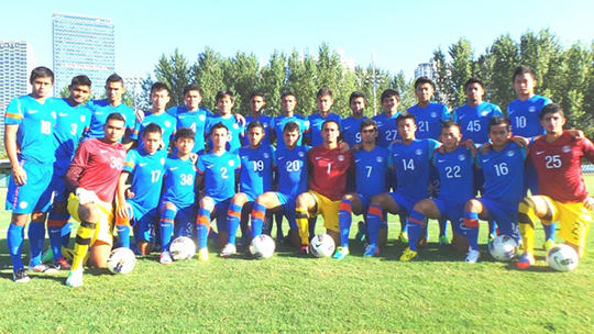 India u-19 team 2013