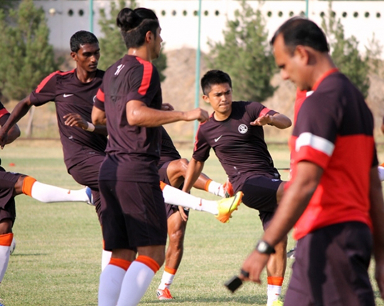 Indian footballers in Tajikistan