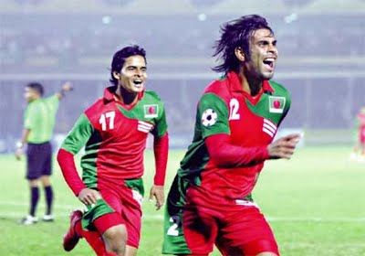 Bangladesh football team versus India
