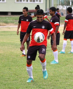 Dawson Fernandes Indian footballer