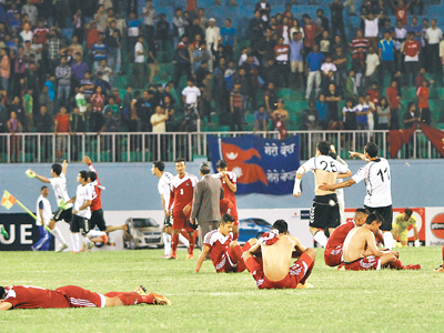 Disappointed  Gorkhalis (Photo : ekantipur.com)