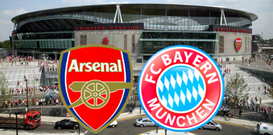 Arsenal vs Bayern live stream and preview