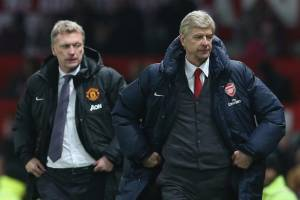 Moyes Wenger Arsenal vs Man United live stream free