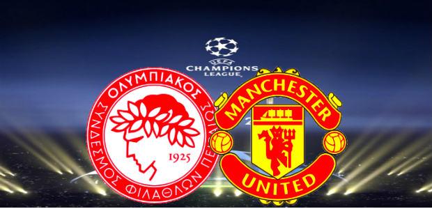 Olympiakos vs Man Utd live stream free