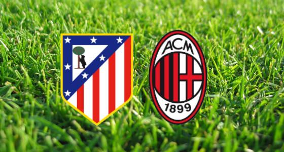 Atletico Madrid vs AC Milan li