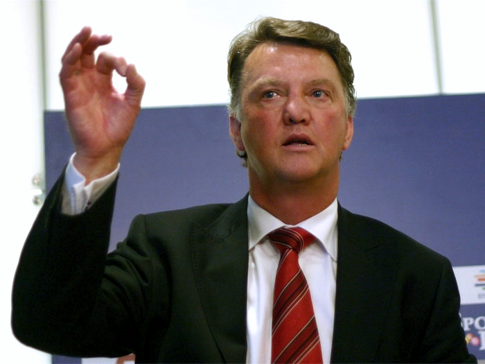 Man united manager Van Gaal