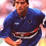 Roberto Mancini Young