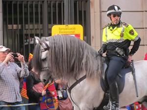 Barcelona Catalan Police