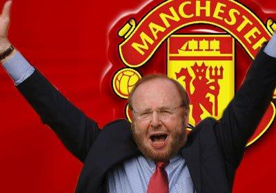 Malcolm Glazer Man United