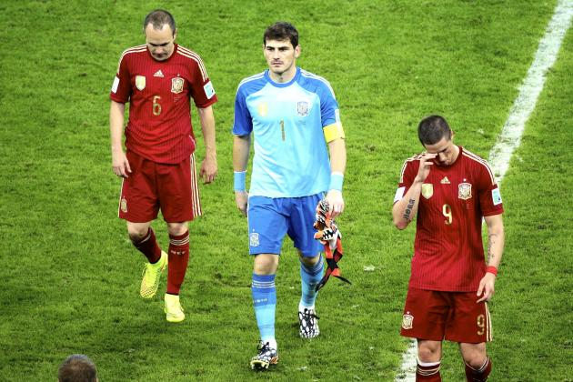 Spain out of world cup