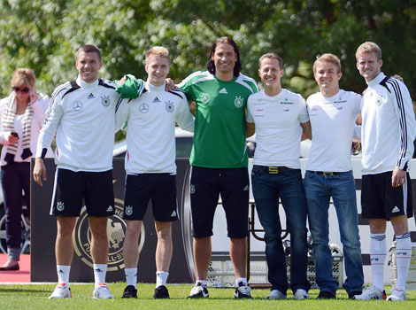 Schumacher Germany football team