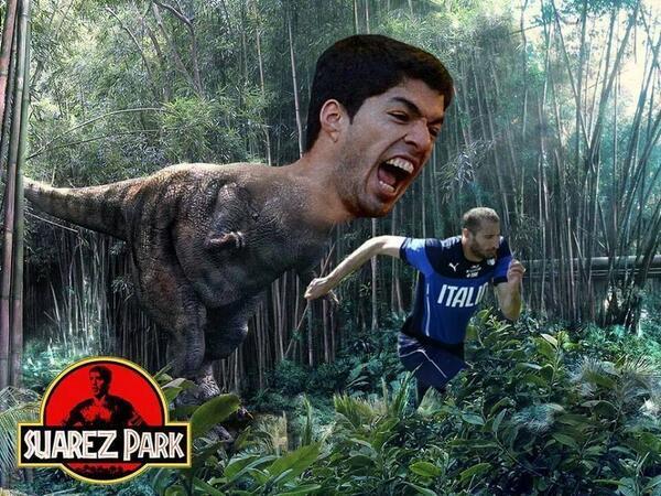 Luis Suarez meme