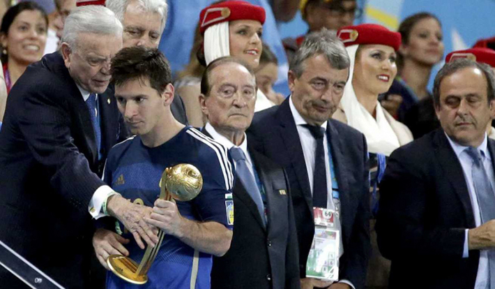 Messi golden ball controversy