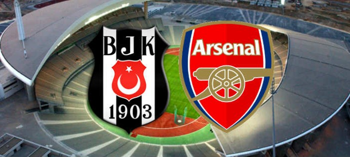 Arsenal vs Besiktas live stream