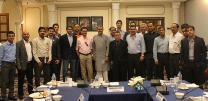 AIFF and I-League Club Officials at the meeting in Delhi