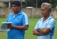 United SC Coach Binu George
