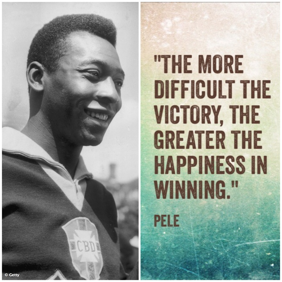 5 Inspirational Quotes by Pele, the Brazilian Legend ...