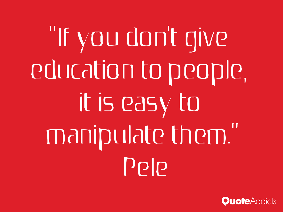 Online education quotes - Pele5 Png