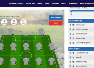 ISL Fantasy League 2015