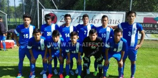 India U16 team at the AFC u16 Championship 2016