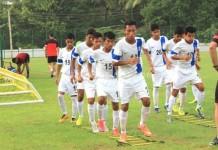 India U16 team in Iran for AFC U16 2016 Qualifiers