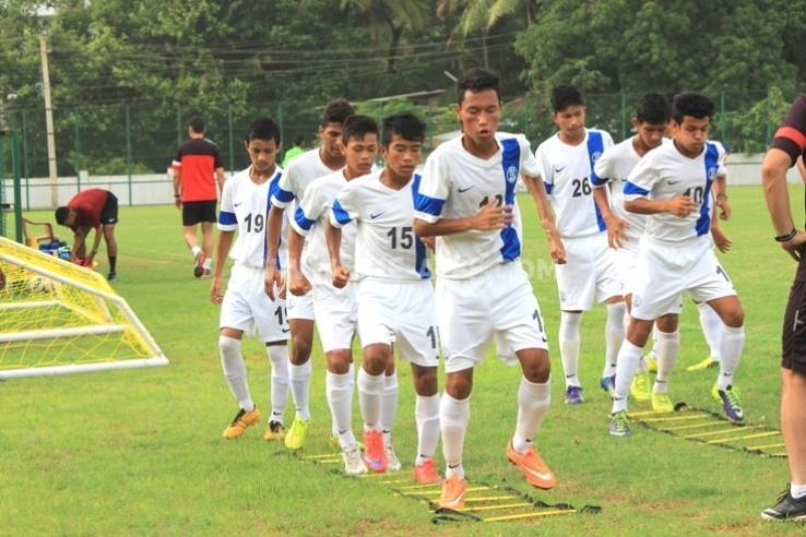 India U16 team in Iran for AFC U16 2016 Qualifiers