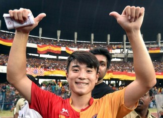 East Bengal player Do Dong-hyun