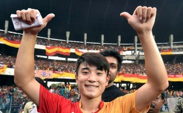 East Bengal player Do Dong-hyun