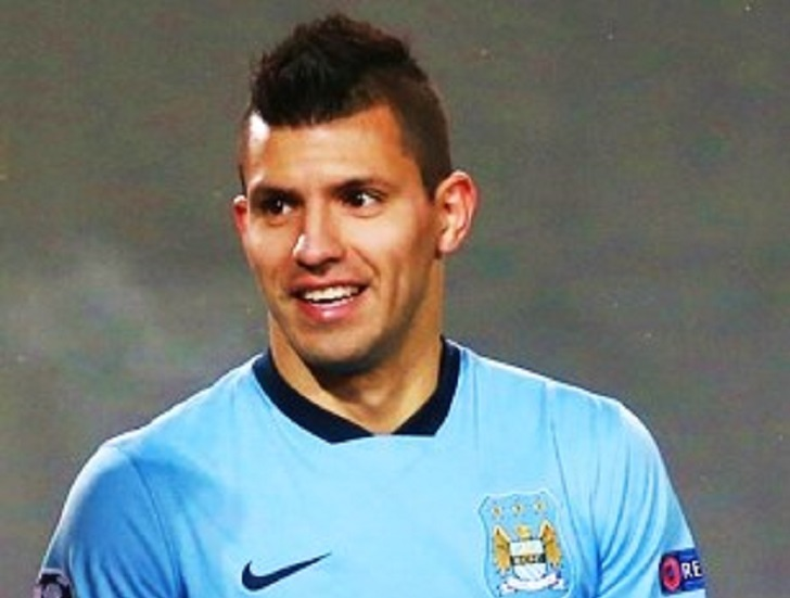 Sergio Aguero is the man to watch out for