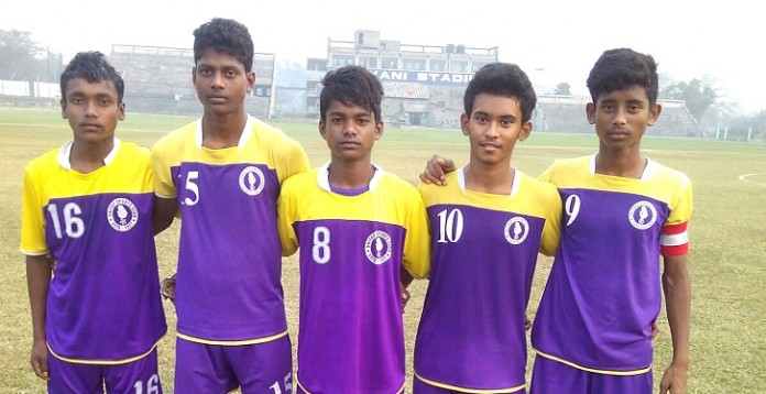 Scorers for United SC in U15 I-League against Mohun Bagan