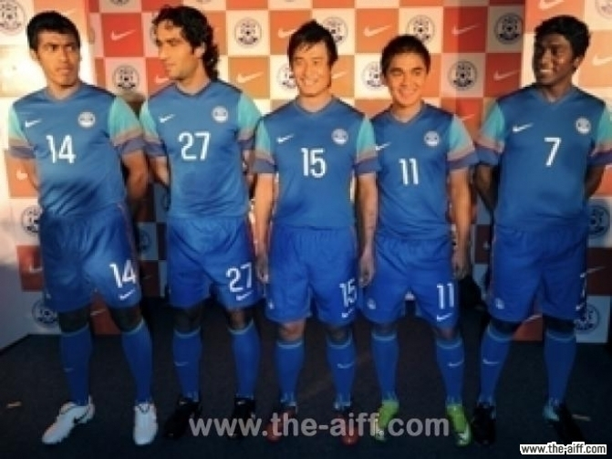 new style fe5e4 cd3aa Ranking All Kits Used By The Indian Football Team | Indian ...