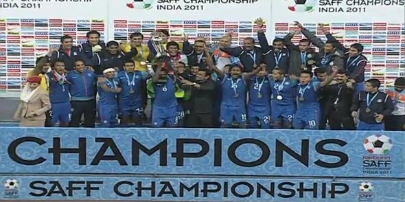 SAFF 2011 Champions India