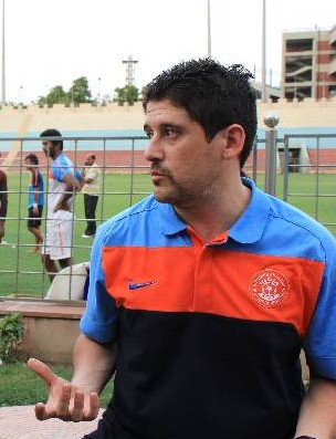 Coach Arthur Papas.