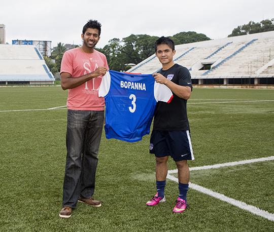Bengaluru FC_Rohan Bopanna