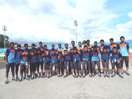 India u16 2013