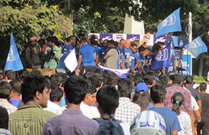Bengaluru FC fans