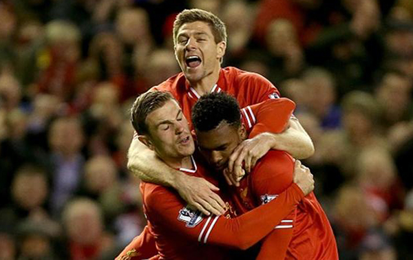 Liverpool players in world cup 2014