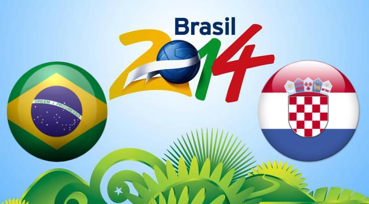 Brazil vs Croatia live streaming free wath FIFA World Cup 2014