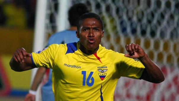 Antonio Valencia Ecuador FIFA World Cup