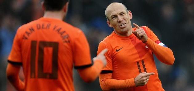 Arjen Robben key player against Mexico