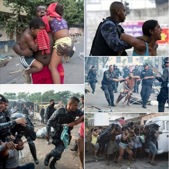 Evictions of the favelas, Brazil's squatter communities