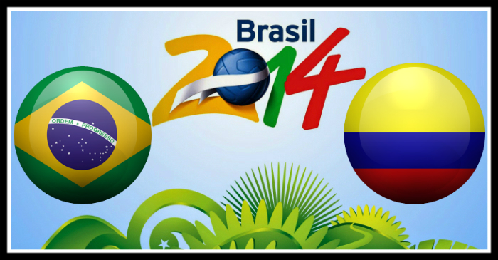 Brazil vs Colombia world cup