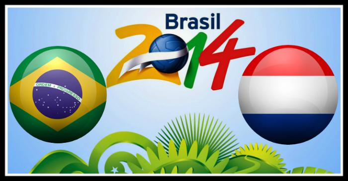 Brazil vs Netherlands world cup